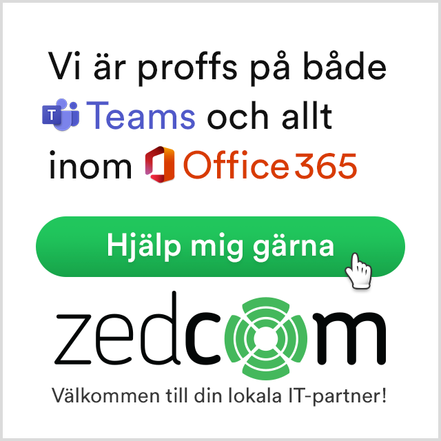 Zedcom - Proffs på Teams & Office365